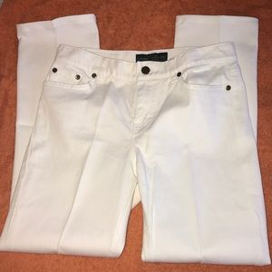 LRL Bright White Jeans offered by Careful Owner